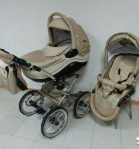 Детская коляска 2в1 парусок,