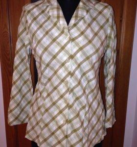 Рубашка-жакет из вискозы