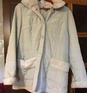 Пальто (Полупальто) отл сост стёганое