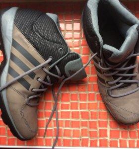Мужские ботинки кроссовки зимние  Adidas