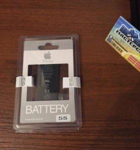 Новый аккумулятор для iPhone 5s оригинал