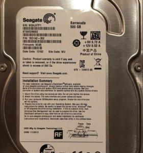 Жесткий диск 500Gb Seagate