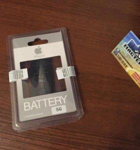 Новый аккумулятор для iPhone 5 оригинал
