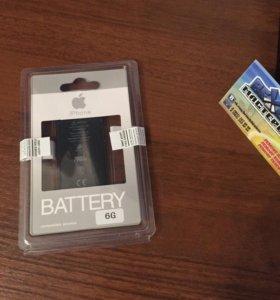 Новый аккумулятор для iPhone 6 оригинал