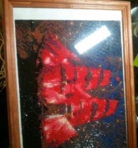 Картина из алмазной мозайки
