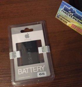 Новый аккумулятор для iPhone 6s оригинал