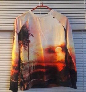 Летний свитшот джемпер свитер кофта
