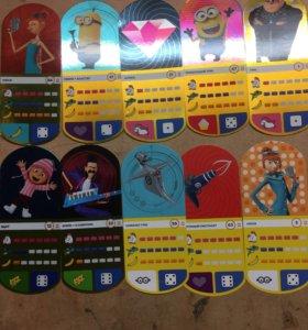 """Карточки """"Гадкий Я 3""""!!!"""