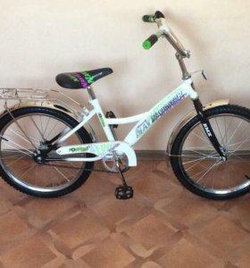 Велосипед Новый! До 12 лет