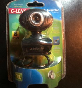 Веб-камера с микрофоном и кнопкой для фотосъемки