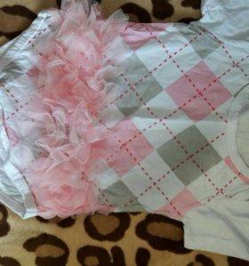Пакет с одеждой для девочки