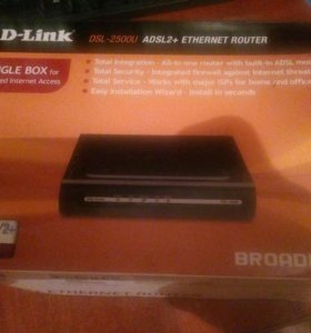 Маршрутизатор D-link ADSL2 +Ethernet Router