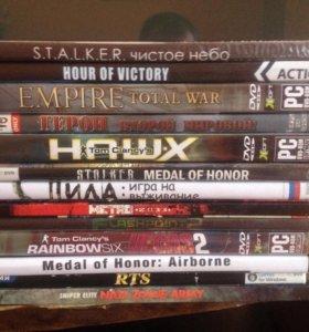 Продам диски игровые на ПК