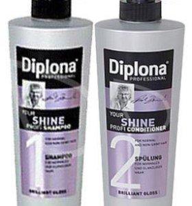 Профессиональный шампунь и кондиционер Diplona