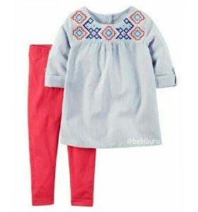 Комплект для девочки (Туника и штанишки)