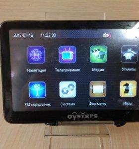 Gps навигатор oysters chrom 2600