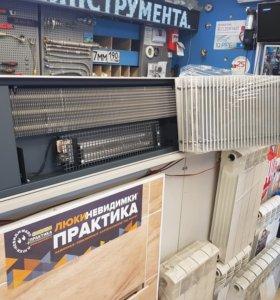 Конвектор внутрипольный с вентиляторам 250х85х150