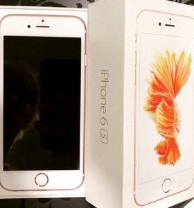 Apple iPhone 6 S 64 Gb, RoseGold, розовый айфон