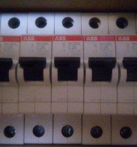 Автомат АВВ SH201L C25 Автоматический выключатель