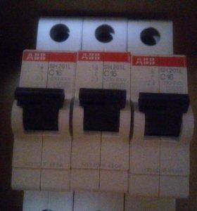 Автомат АВВ SH201L C16 Автоматический выключатель