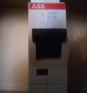 Автомат АВВ S201 C16 Автоматический выключатель