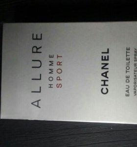 """Туалетная вода""""Allure homme sport"""" Chanel"""