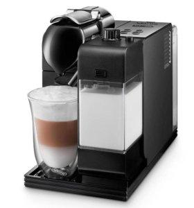 Капсульная кофеварка Delonghi nespresso lattissima