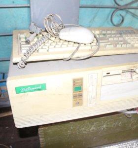 ПК Pent.486 Раритет в рабочем состоянии. Клава.мыш