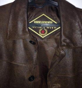 Куртка кожаная - осенью вы такую не купите