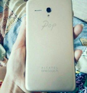 Телефон Alcatel One Touch 5054D Gold Lte (Pop3)