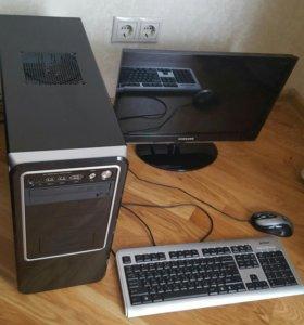 Персональный компьютер + монитор