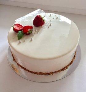 """Муссовый торт """"Красный бархат"""""""