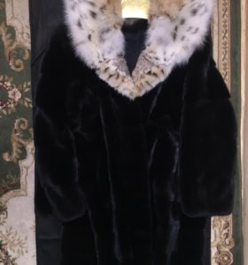 Шикарная норковая шуба(Blackglama)