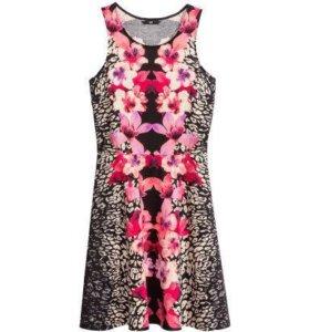 Трикотажное платье HM
