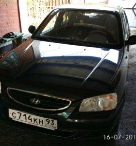 Hyundai accent 2007 г.в.