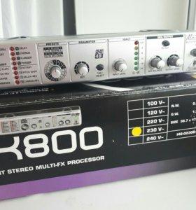 Процессор эффектов behringer FEX 800 minifex