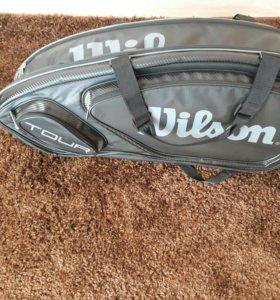 Теннисная сумка wilson