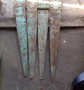 комплект петель (4шт) для деревянных распашных вор