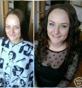 Прически, макияж
