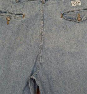 Бриджи Lee. джинсовые. мужские.