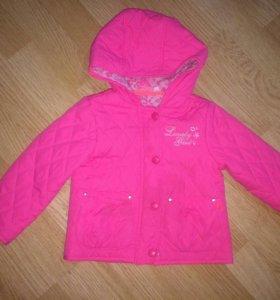 Куртка стеганая на девочку
