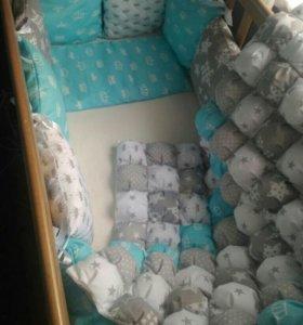Текстиль для малышей ручной работы