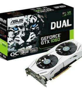 Видеокарта Asus GeForce GTX 1060 dual OC _O3G