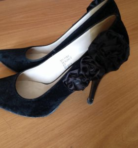 Туфли замшевые 38 размер
