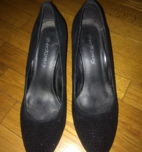 Туфли 👠 из натуральной замши