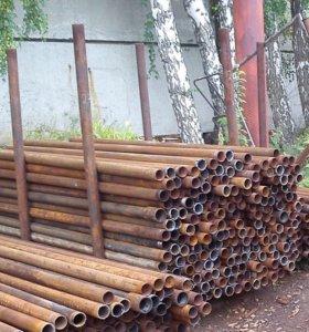 Столбы на забор НКТ б/у 73мм толщина стенки 5,5мм