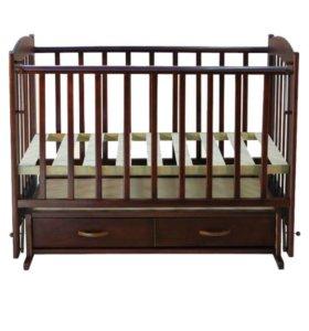 Детская кроватка и детский матрац