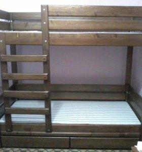 Двуярусные кровати