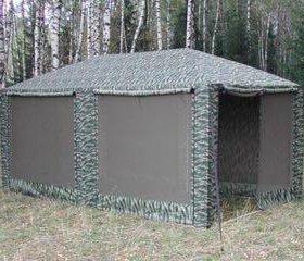 Беседка садовая Митек Пикник 6*3 метра камуфл.