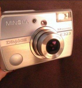 Фотоаппарат Minolta dimage E323